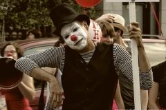 Le mime complètement cirque