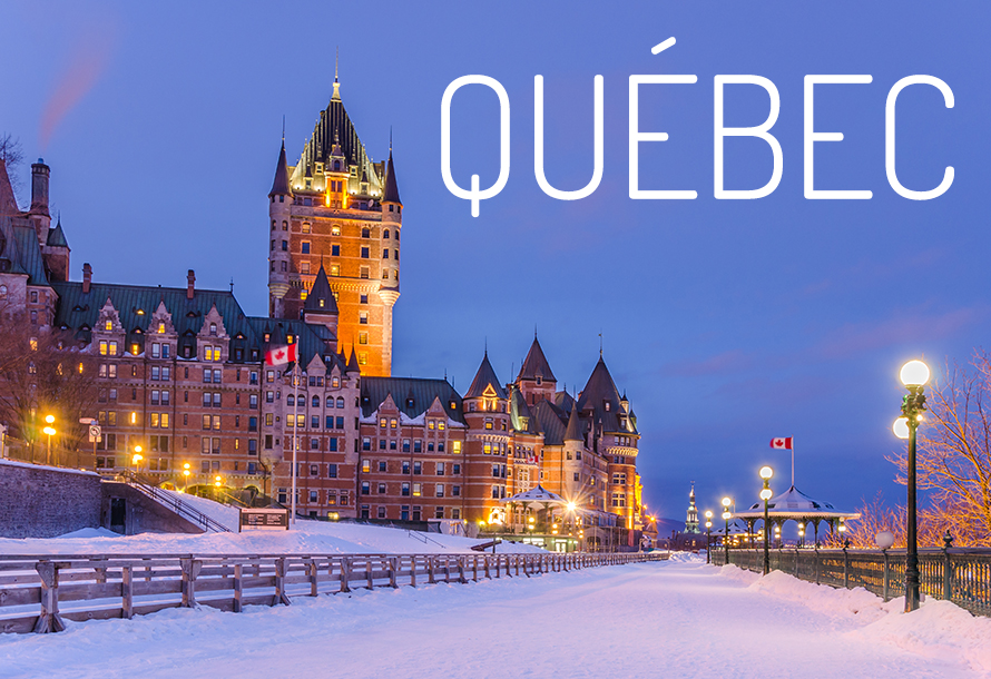 Québec le grand village