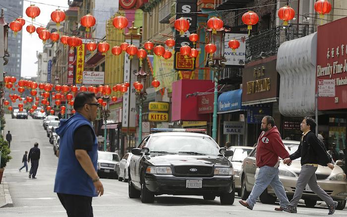 Chinatown, San Francisco, États-Unis