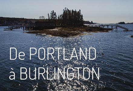De Portland à Burlington